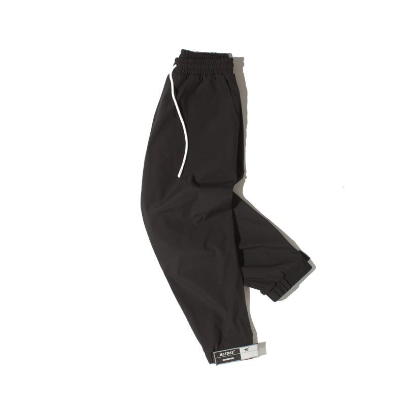 DS Men'S Wear Autumn And Winter Magic Sticker Athletic Pants Men's Closing Casual Pants Trend MEN'S Ninth Pants Loose Harem Pant