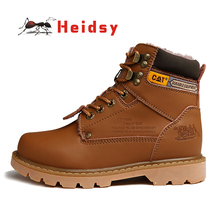 New Fashion Retro High-top Height Increasing Men Ankle Boots