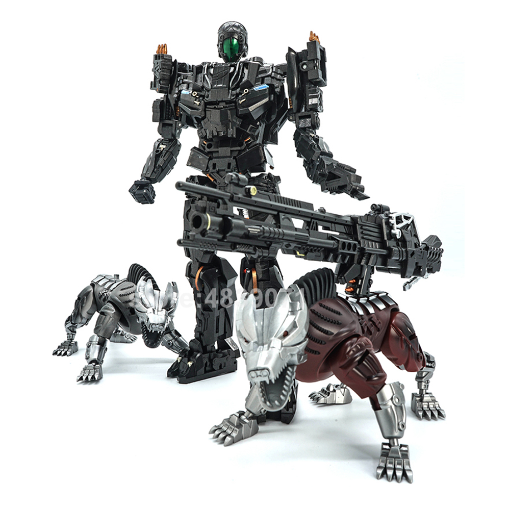 Image 5 - VT Action Figure Toys VT 01 VT01 Metal MP Bounty Hunter UT Confinement Two Hunting Dogs Sports Car Deformation TransformationAction & Toy Figures   -