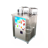 industrial 2 molds ice popsicle maker ice stick making machine
