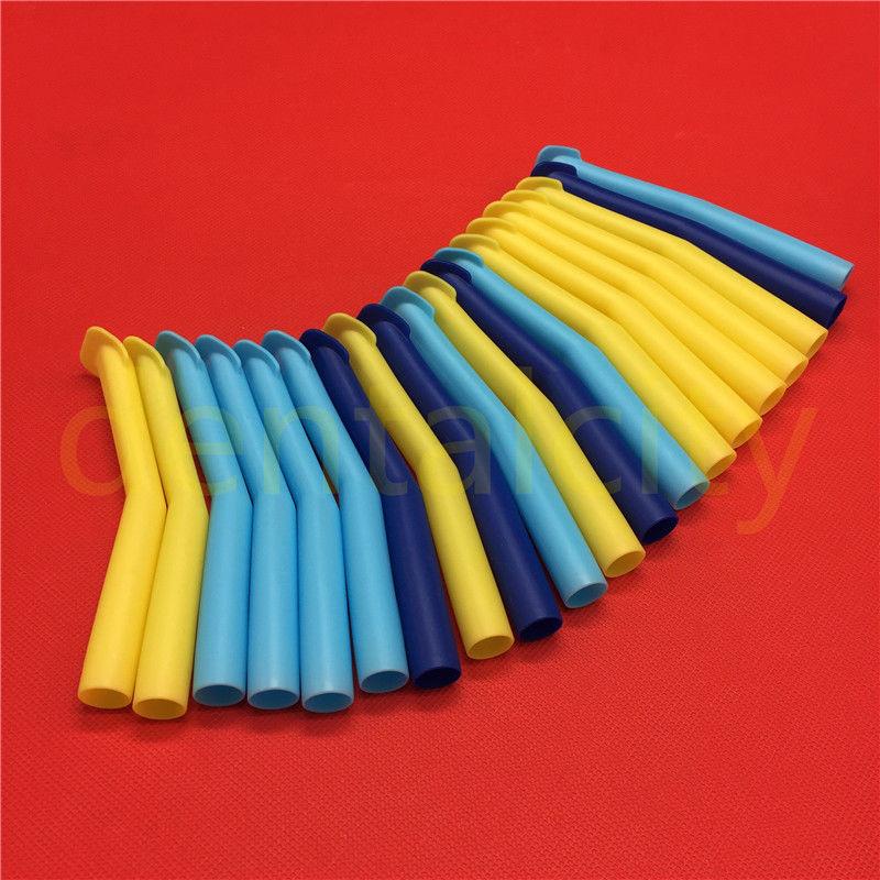 50pcs/20pcs Dental High Volume Suction Tips Duckbill Evacuation Tips 16mm