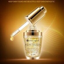 ZELIGHT 24K الذهب مكافحة الشيخوخة حمض الهيالورونيك الوجه مصل ترطيب ترطيب العناية بالبشرة الكورية جوهر 30 مللي