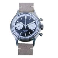 MERKUR FOD Pierre Paulin Seagull movement 1963 Chronograph Mechanical mens Pilot watch Swan Neck Miliary Pilot B uhr Flieger