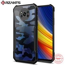 Rzants Voor Xiaomi Poco X3 Nfc Poco X3 Pro Case Camouflage Kever Hard Shockproof Ant Drop Ultra Slanke Dunne telefoon Cover