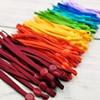 100 Pcs Adjustable Mask Sewing Elastic Band Cord Buckle Colorful Face Mask Lanyard Rope DIY Making Supplies cuerda mascarillas