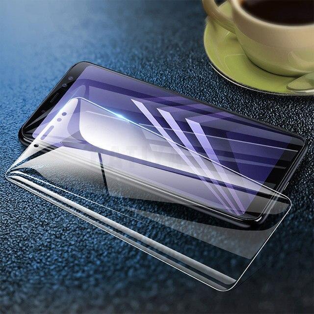 3Pcs Tempered Glass for Samsung Galaxy A7 2017 A8 A9 A5 A6 Plus A750 2018 Screen Protector Glass for Samsung J7 J5 J4 J6 J8 Film 3
