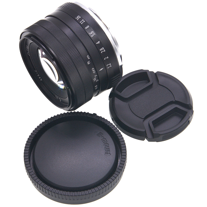 FULL-35mm F1.2 Large Aperture Prime APS-C Camera Lens for Sony E-Mount Digital Cameras NEX 3 NEX 3N NEX 5 NEX 5T NEX 5R NEX 6 7 фото