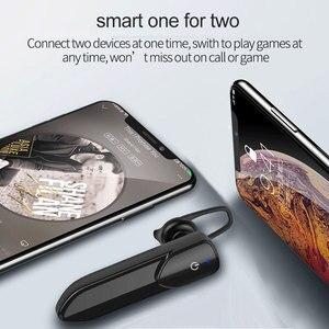 Image 2 - V19 écouteur sans fil 1PC Mini Bluetooth bruit Concel stéréo son mains libres avec micro casque écouteur écouteur pour IOS Android
