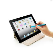 10 colors round double nib capacitive stylus touch screen drawing pen for direct delivery on phone i