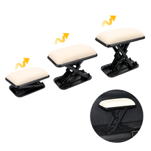 LEEPEE Auto Car Armrest Cushion Main Driver Position Left Armrest Arm Protective Pad Anti fatigue Elbow Support Door Armrest Pad