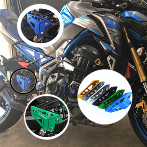 For KAWASAKI Z900 Z 900 2017 2018 Motorcycle Accessories FootPeg Footrest Rear set Heel Plates Guard Protector(China)