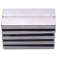 ABSF 100PCS 40 X 10 X 4 Mm Big Strong Rectangle Block Bar Fridge Magnets Rare Earth Neodymium Magnet