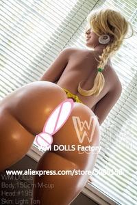 Image 5 - MỚI WMDOLL 150cm Chất Lượng Hàng Đầu M Cốc Rất Lớn Mông Tình Dục Người Lớn Búp Bê Dành Cho Nam Sống Động Như Thật Tình Yêu Búp Bê Dẻo Silicone Nhân Tạo ngực Gợi Cảm Nộm