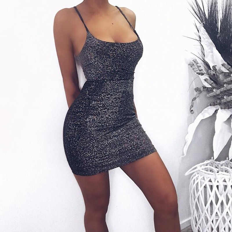 Sexy Dress Sleeveless Dress Strapless Sheath Sequined Above Knee Bodycon Dress Shirt Party Dress Gold White Casual Dress