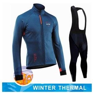 2020 Northwave Pro Team Зимняя одежда для велоспорта дышащая Ropa Ciclismo с длинным рукавом MTB велосипедная одежда уличная спортивная одежда