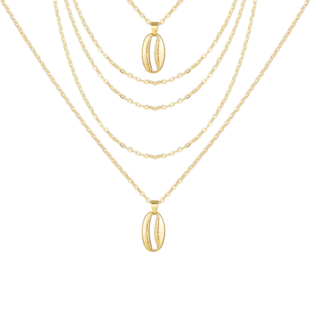 17 км винтажная Золотая монета с портретом, жемчужное ожерелье с подвеской s для женщин, богемное Модное Длинное Ожерелье из муклтилятора с жемчугом, ювелирное изделие - Окраска металла: CS5437