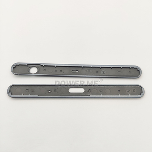 Image 3 - Dower Me Top And Bottom Frame Chassis Up Down Bezel Cover For Sony Xperia XZ1 G8341 G8342 Replacement