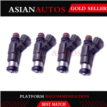 DF60 DF70 Fuel Injector 4PC for 98-09 Suzuki Outboard DF 60/70 OEM 15710-66D00 CDH166