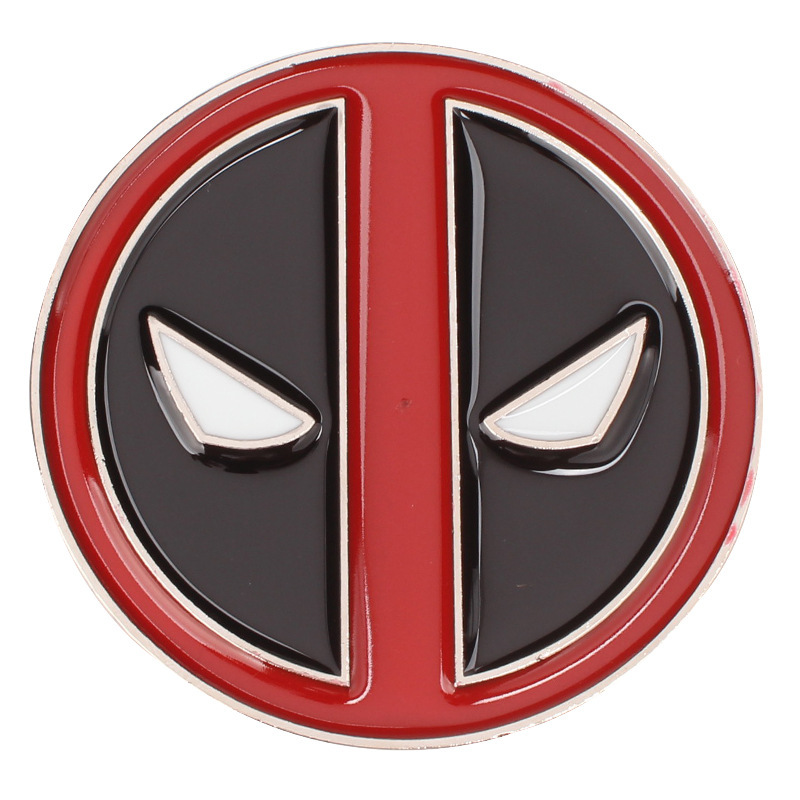 DEADPOOL DEAD POOL 2 Metal Belt Buckle Marvel Comic Book Movie X MEN Belt Buckles For Men Western Buckles