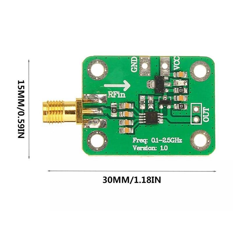 moudle logarítmica detector detecção de energia ampla