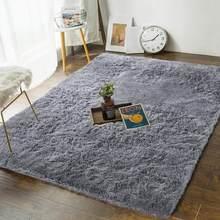 Chambre salon tapis Super doux moelleux petits tapis filles garçons fourrure maison tapis décoratif grand peluche fourrure Shag tapis