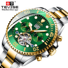 Tevise Luxury Fashion Brand Mechanical Watch Man Automatic T