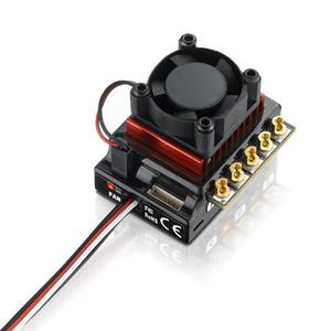 Image 4 - Voor Hobbywing 60A/120A Brushless Esc Rc Auto Sensored Brushless Esc Electric Speed Controller Voor 1/10 1/12 Rc Auto accessoire