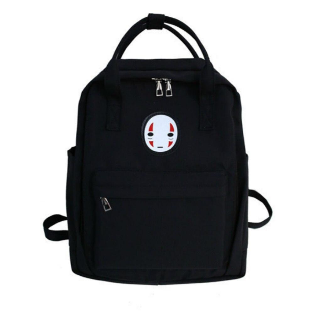 Women Canvas Backpack Large Capacity Printing Laptop School Backpack For College Student Ladies' Travel Bag Harajuku Backpack