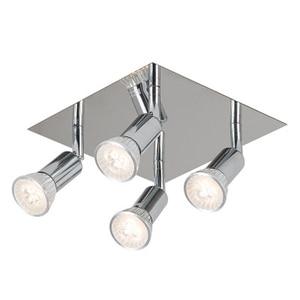 Квадратный светодиодный потолочный светильник, лампа на потолок для гостиной, магазина одежды, с теплым белым и холодным белым светом, пере...