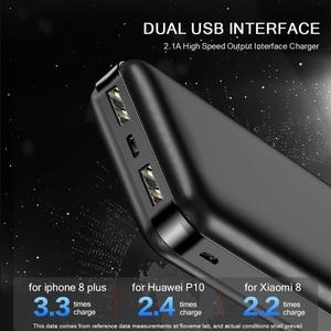 Image 4 - FLOVEME 20000mAh Power Bank Powerbank For Xiaomi External Battery Portable Charger Double USB Mi Poverbank Bateria Externa Movil