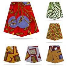 Голландская вощеная ткань африканская ткань восковая печать хлопок материал 6 ярдов африканская Анкара оптом хлопок восковая ткань для платья