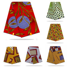Holland wax cloth african fabric wax print 100% cotton material 6yards african ankara wholesale cotton wax fabric for dress(China)