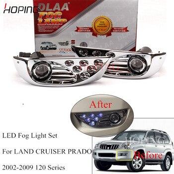 Hoping  Front Bumper LED Fog Light et For Toyota PRADO 120 Series 2700 4000 LC120 2002 2003 2004 2005 2006 2007 2008 2009