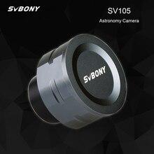 Svbony sv105 2mp ocular eletrônico 1.25 polegada conexão usb astronomia telescópio para astronômico profissional câmera telescópio