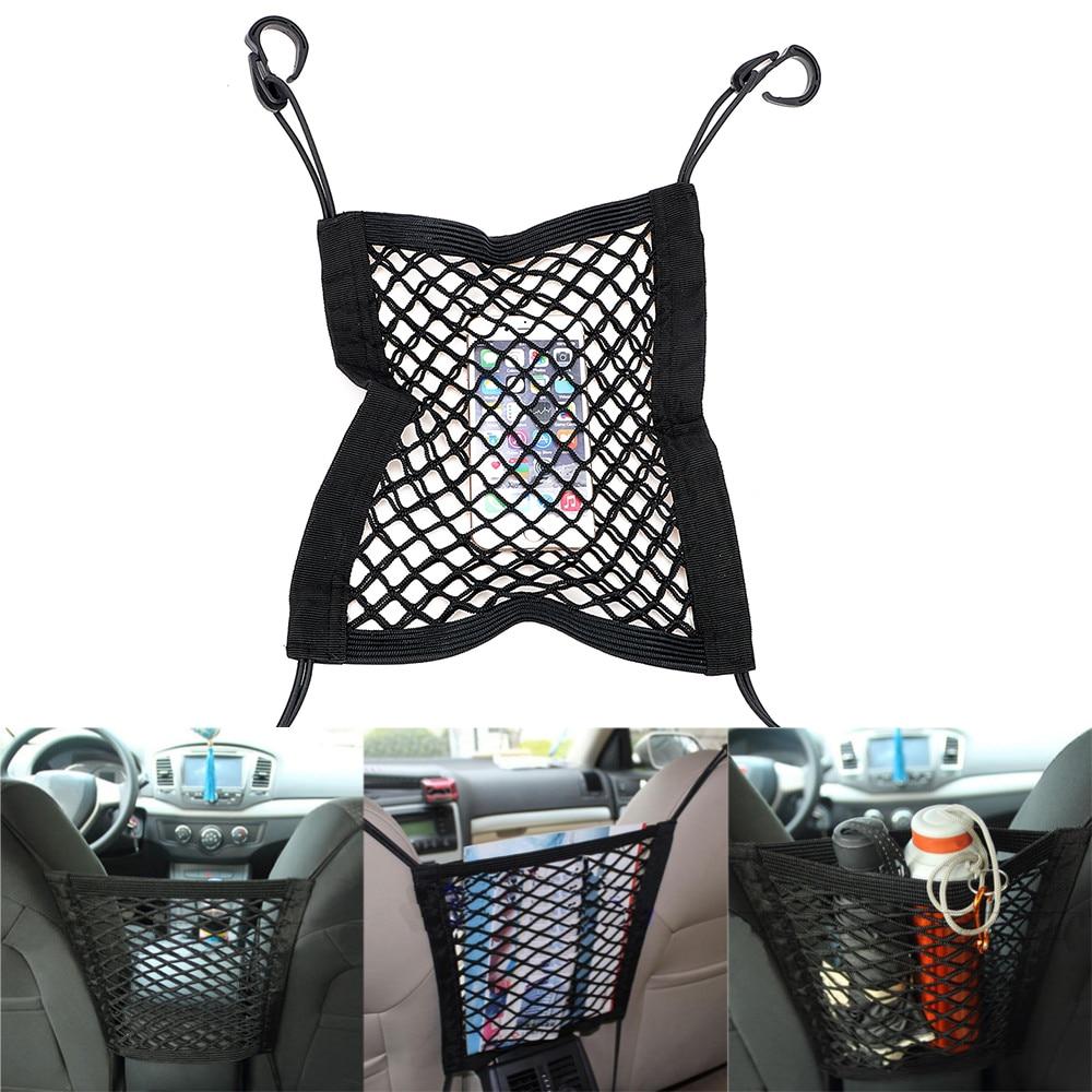 Car Storage Net Bag Organizer Holder Mesh Seat Back