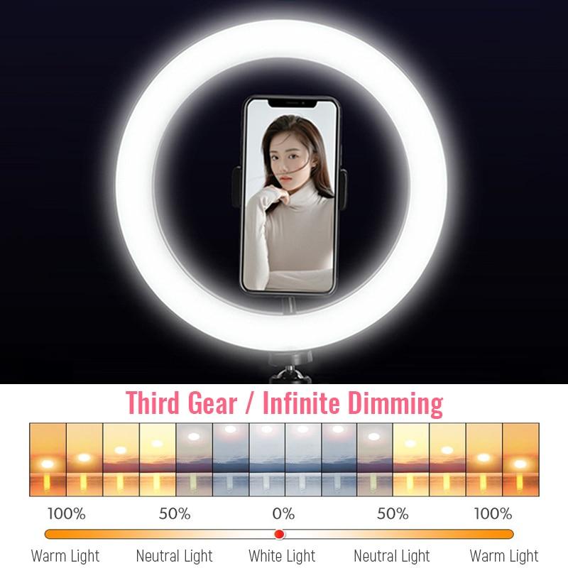 33 см светодиодный кольцевой светильник для фотосъемки ing со