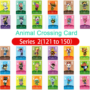 Animal Crossing Amiibo Card Amiibo Card Animal Crossing Series 2 Nfc Card 121 To 150 Work For Ns Games Dropshipping