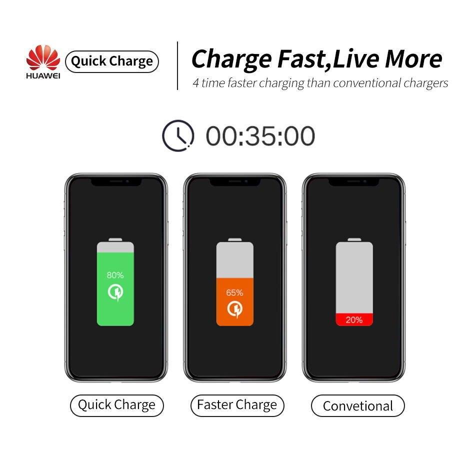 详情2Huawei Genuine Fast Charger 9V 2A QC 2.0 Quick Charge EU Adapter USB C Cable For Mate20lite p9plus honor v9 note8 nove2plus 2 3e