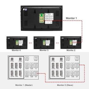 Image 5 - HomeFong Telefone Video Da Porta Vídeo Porteiro Com Fio para o Sistema de Segurança Em Casa com Monitor 2 1 Campainha Câmera de Detecção De Movimento de Gravação