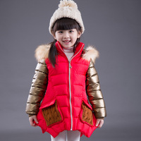 Winter Girls Clothing Baby Coats for Girls  Jackets For Winter Kids Clothes Fashion Thick Warm Hooded Coat Children Outerwear