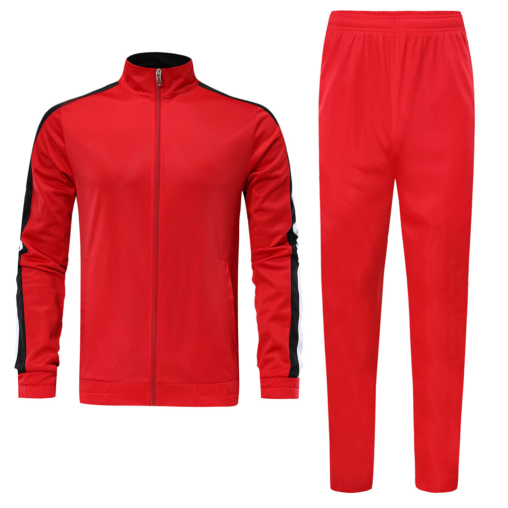 terno masculino outono inverno corrida grossa badminton ternos de treinamento futebol
