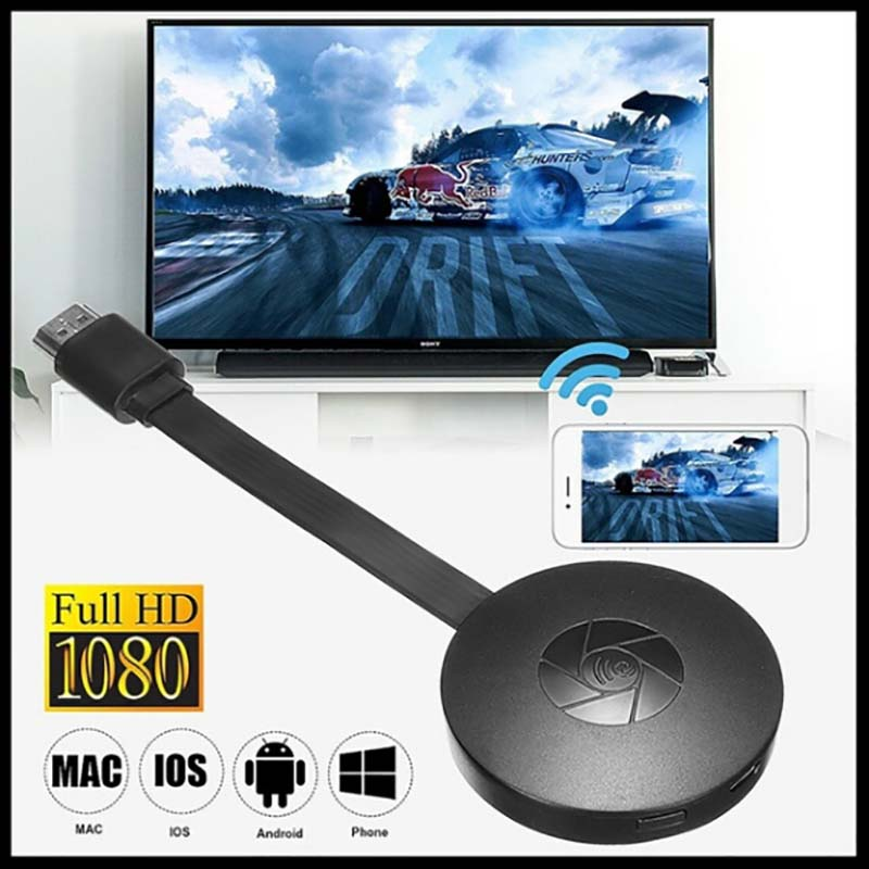 Wireless Hdmi Adapter Android / IOS Wireless Hdmi With  Screen Airplay Push Treasure HD Mobile TV Projection Video Transmission