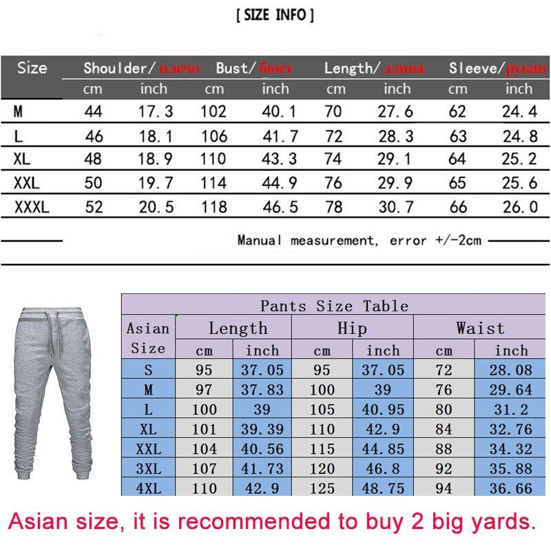 2020 ανδρικό αθλητικό παντελόνι σετ 2 τεμαχίων φούτερ με κουκούλα + παντελόνι msow