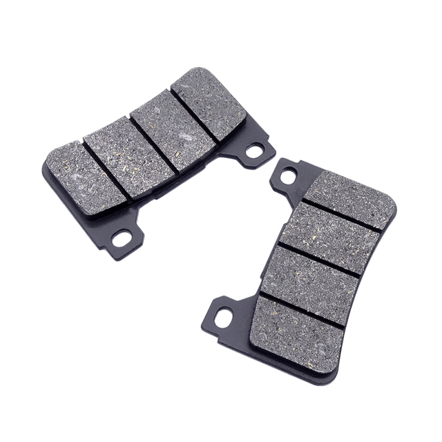 Motorbike Replacement Front & Rear Brake Pads For HONDA CBR1000RR 2006-2016 CBR1000RA 2009-16 Sintered Brake Pads