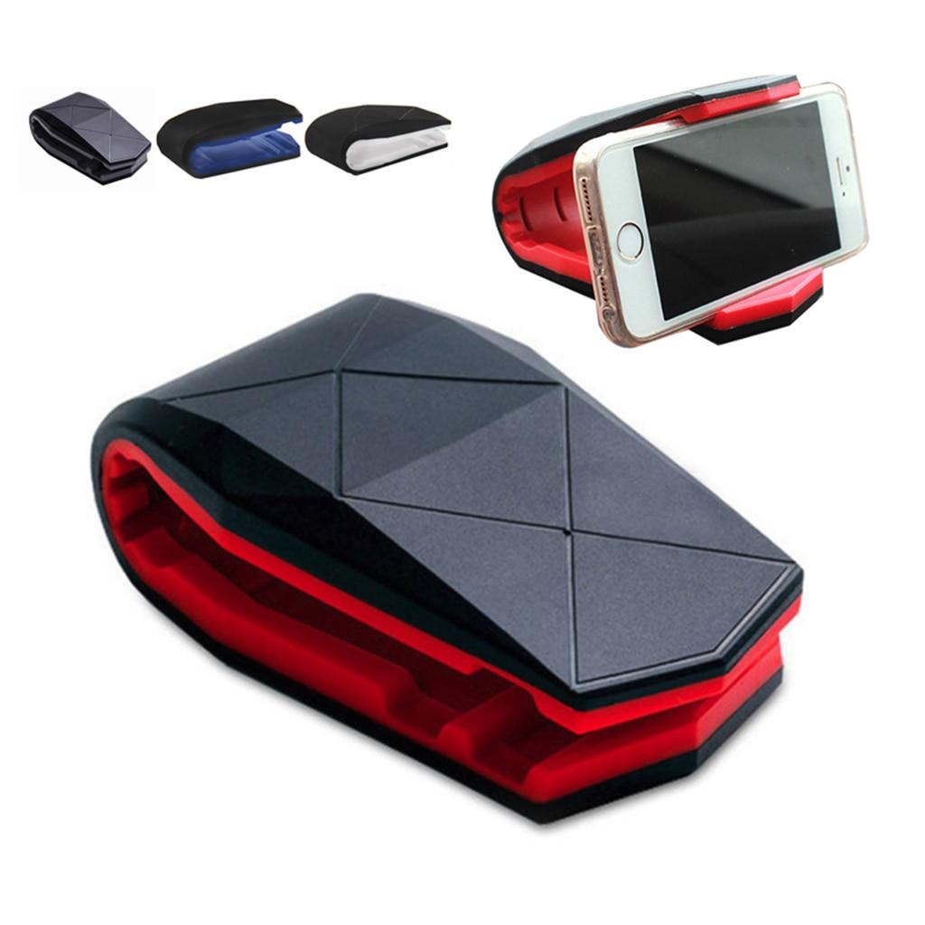 Universal Adjustable Crocodile Car Holder Mount Car Mount Dash Cell Mobile Smart Phone Holder Dock Cradle Stand Stealth