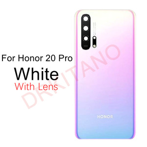 Image 5 - עבור Huawei Honor 20/20 Pro/צפה 20 חזרה סוללה כיסוי V20 אחורי זכוכית פנל דלת שיכון מקרה לכבוד 20 פרו סוללה כיסוי