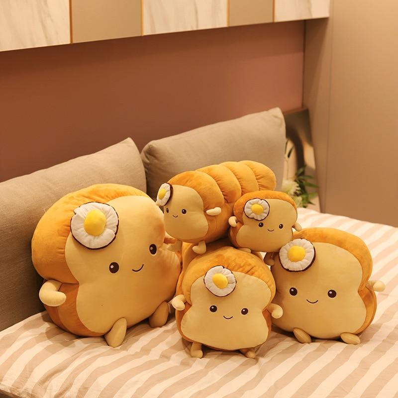 Хлебная палочка круассан длинные подушки декоративные детские плюшевые куклы подушка подарок на день рождения для детской комнаты настенн...