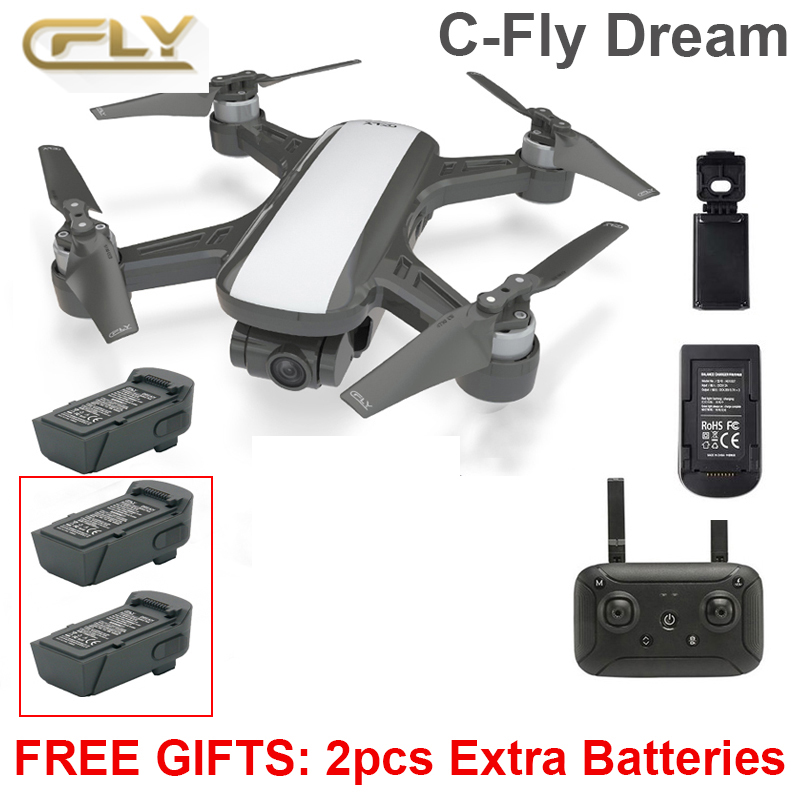 C FLY Dream RC Camera Passport Drone Mini Selfi Helicopter Quadcopter PK DJI Spark Mavic pro Camera Drone