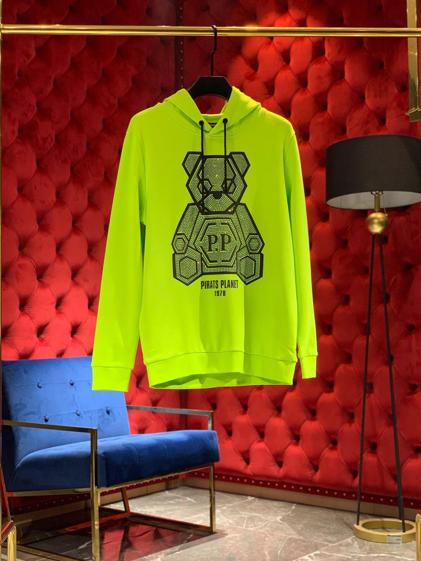 Men Sweatshirt Crystal Skull Sweatshirt 2019 Autumn Male Tops Printed Terry Fabirc Pullover Pp Skull Brand Clothing