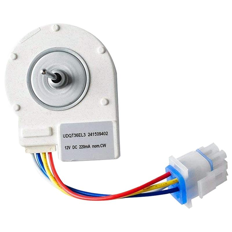 241509402 Evaporator Fan Motor Replacement Part Exact Fit for Frigidaire Electrolux Kenmore Frigidaire Refrigerators